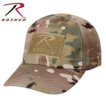 Rothco caps Multicam Tactical Operator Cap PLUS Patch Combo (Various options)