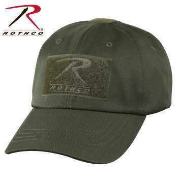 Rothco caps Olive Drab Tactical Operator Cap PLUS Patch Combo (Various options)
