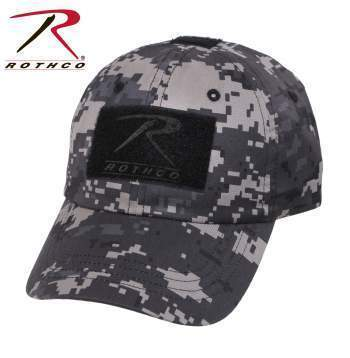 Rothco caps Subdued Urban Digital Camo Tactical Operator Cap PLUS Patch Combo (Various options)