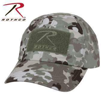 Rothco caps Total Terrain Camo Tactical Operator Cap PLUS Patch Combo (Various options)