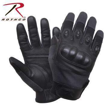 Rothco gloves Small Rothco Carbon Fiber Hard Knuckle Cut/Fire Resistant Gloves