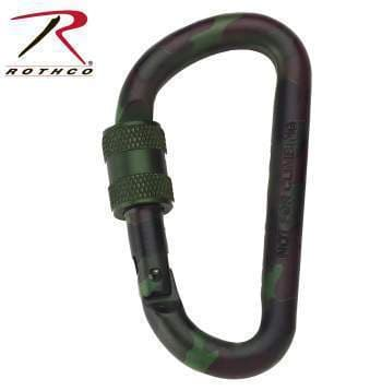Rothco keyholder Black Rothco 80MM Locking Carabiner