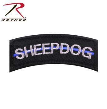 Rothco Patches Rothco Thin Blue Line Sheepdog Morale Patch