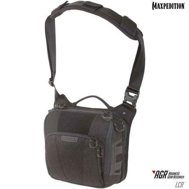 SPARTAC Australia Bags Black Maxpedition Lochspyr™ Crossbody Shoulder Bag