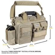 SPARTAC Australia Bags Black Maxpedition Operator™ Tactical Attache