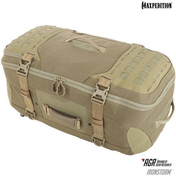 SPARTAC Australia Bags Tan MAXPEDITION® Ironstorm™ Adventure Travel Bag