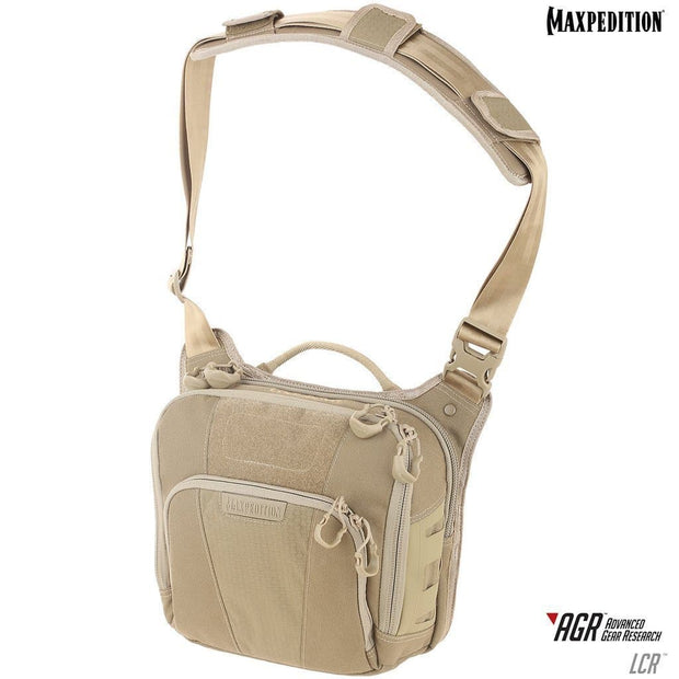 SPARTAC Australia Bags Tan Maxpedition Lochspyr™ Crossbody Shoulder Bag