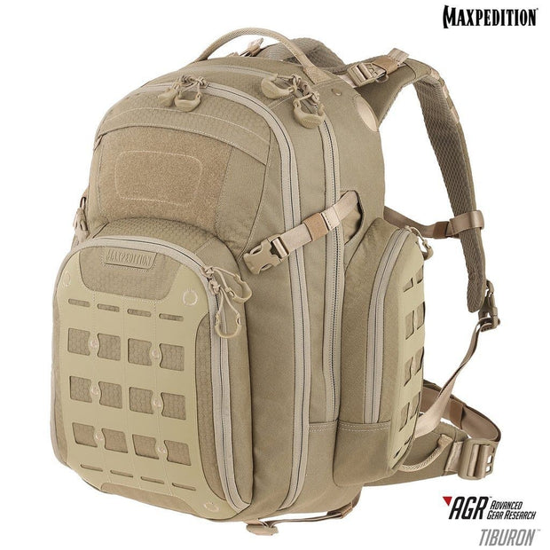 SPARTAC Australia Bags Tan Maxpedition Tiburon™ Backpack