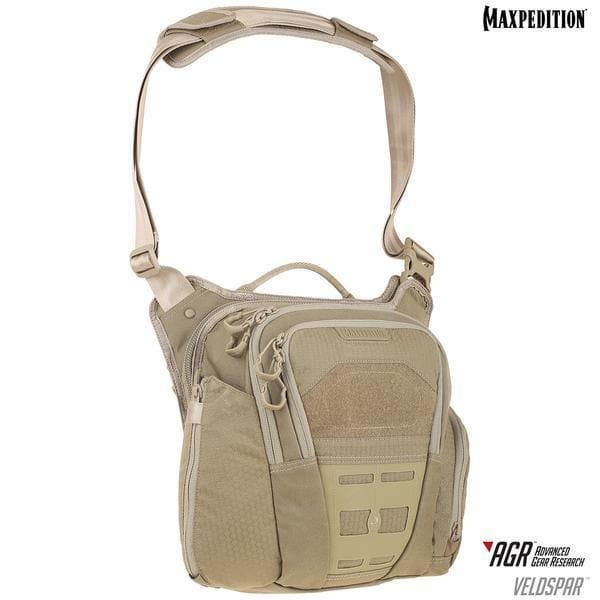 SPARTAC Australia Bags Tan MAXPEDITION® Veldspar™ Crossbody Shoulder Bag
