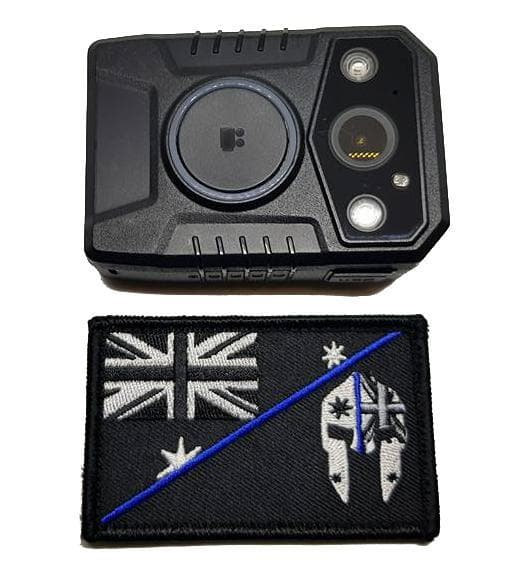 SPARTAC Australia bodycam blackbox™ 128Gb w/GPS