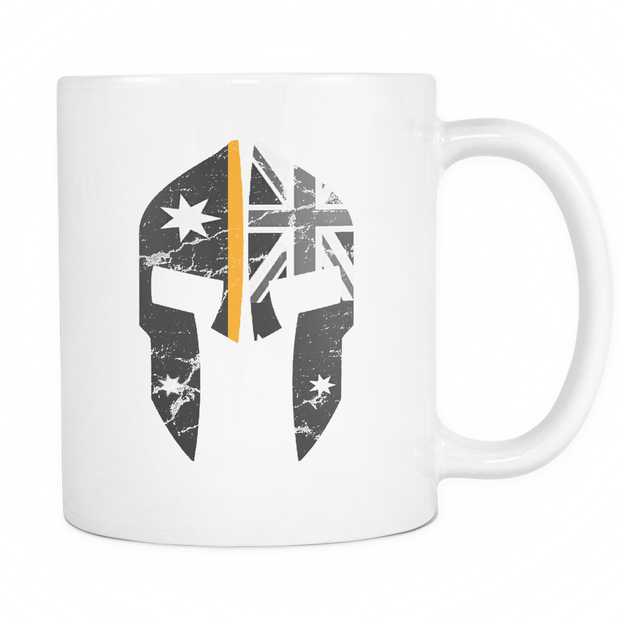 SPARTAC Australia Drinkware Thin Orange Line Spartac Mugs V2
