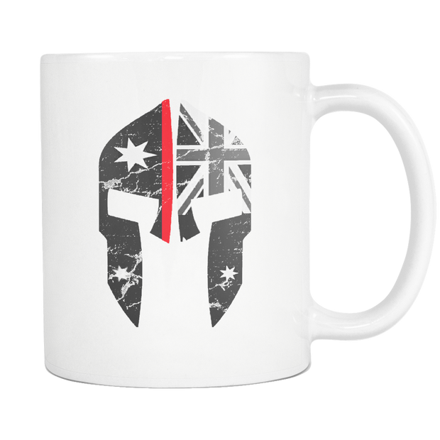 SPARTAC Australia Drinkware Thin Red Line Spartac Mugs (All Lines Available)