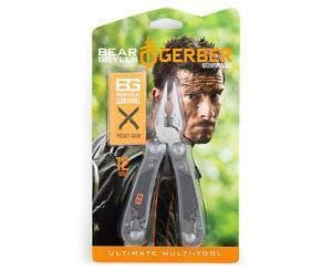 SPARTAC Australia Multitool GERBER BEAR GRYLLS ULTIMATE MULTI-TOOL, NYLON SHEATH