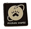 SPARTAC Australia Patches Rocket World Mini Morale Patches