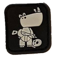 SPARTAC Australia Patches Tactical Rhino Mini Morale Patches