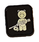 SPARTAC Australia Patches Tactical Teddy Mini Morale Patches