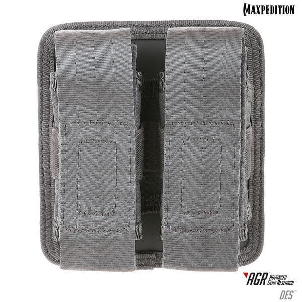 SPARTAC Australia pouch Black Maxpedition DES™ Double Sheath Pouch