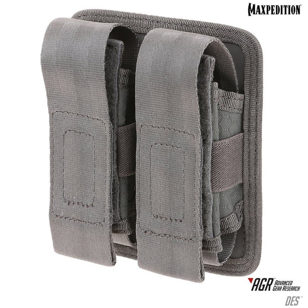 SPARTAC Australia pouch Gray Maxpedition DES™ Double Sheath Pouch
