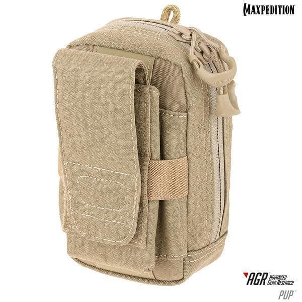 SPARTAC Australia pouch Tan Maxpedition PUP™ Phone Utility Pouch