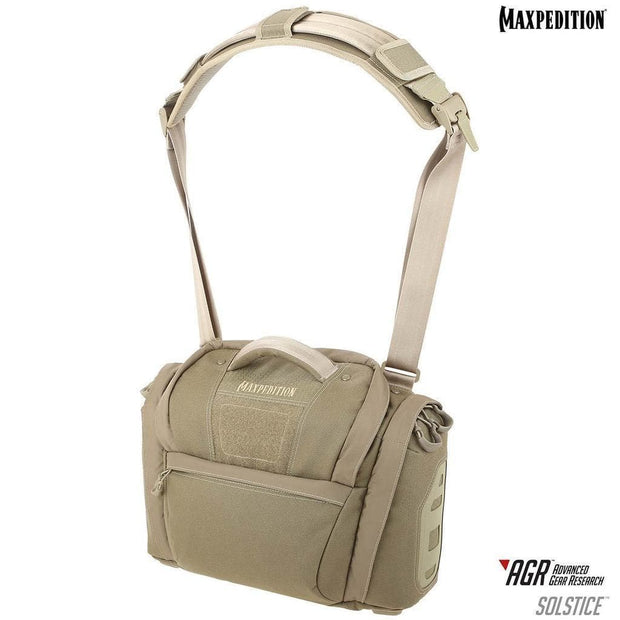 SPARTAC Australia Tan MAXPEDITION® Solstice™ CCW Camera Bag 13.5L