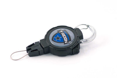 Westbrands Tether T-Reign Retractable Gear Tether Carabiner LARGE