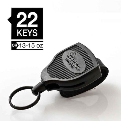 Westbrands tethers Key-Bak SUPER48: 36in Super Duty Kevlar Cord with Leather Loop