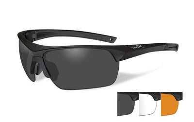 Wiley X eyewear Wiley X GUARD | THREE LENS W/ MATTE BLACK FRAME