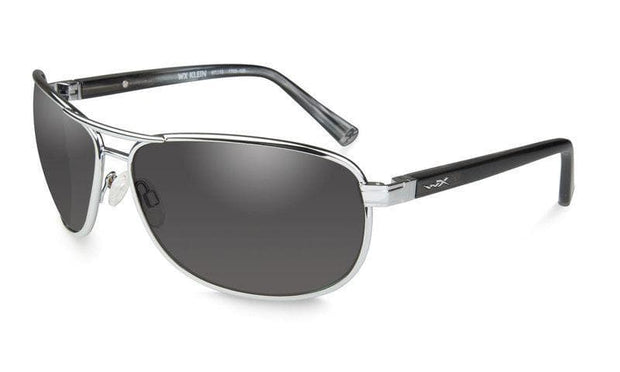 Wiley X eyewear Wiley X KLEIN | SMOKE GREY LENS W/ SILVER FRAME