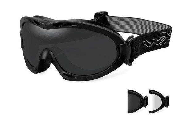 Wiley X eyewear Wiley X NERVE | TWO LENS W/ BLACK FRAME