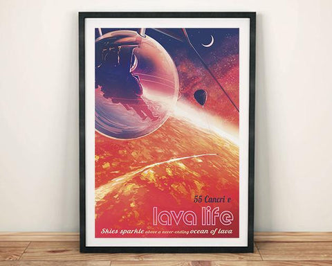 55 CANCRI E POSTER: NASA JPL Space Print - The Print Arcade
