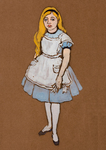 ALICE PRINT: Costume Design Artwork for Alice in Wonderland