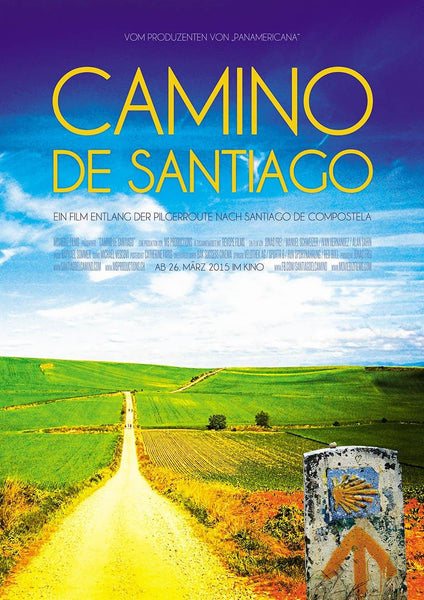CAMINO DE SANTIAGO POSTER: Movie Artwork Reprint - The Print Arcade