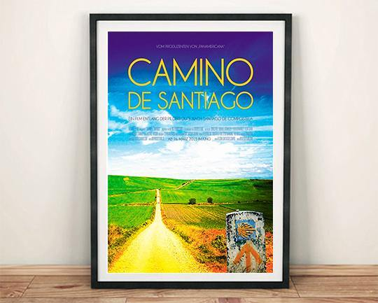 CAMINO DE SANTIAGO POSTER: Movie Artwork Reprint