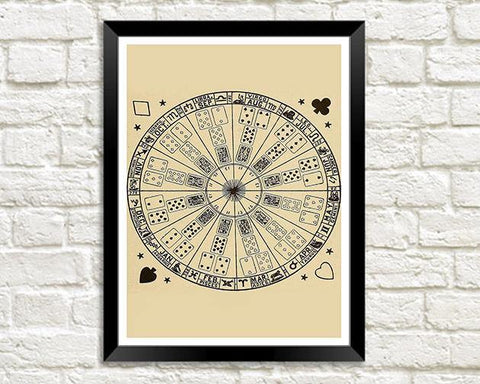 CARD READING PRINT: Mystic Test Book Art Illustration - The Print Arcade