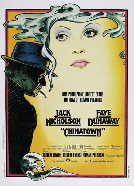 CHINATOWN FILM POSTER: Classic Hollywood Movie Art Reprint - The Print Arcade