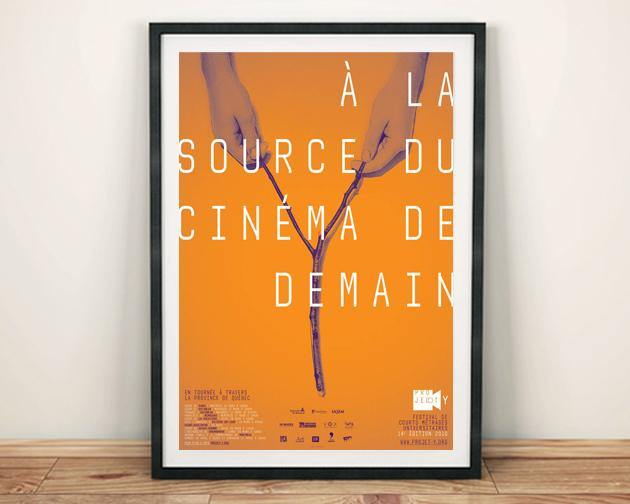 FILM FESTIVAL POSTER: Orange Cinema Print - The Print Arcade