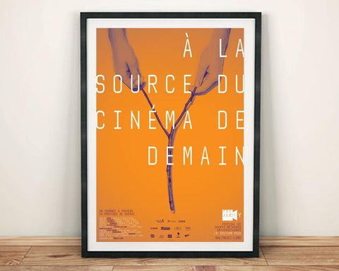 FILM FESTIVAL POSTER: Orange Cinema Print