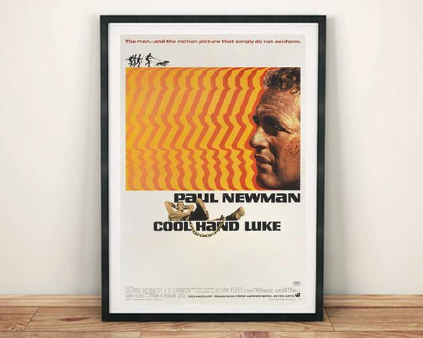 COOL HAND LUKE: Hollywood Movie Poster Art Reprint