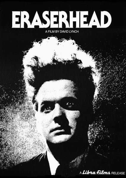 ERASERHEAD POSTER: David Lynch Movie Poster Print