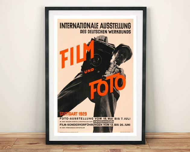 FILM & FOTO POSTER: Exhibition Reproduction Art Print
