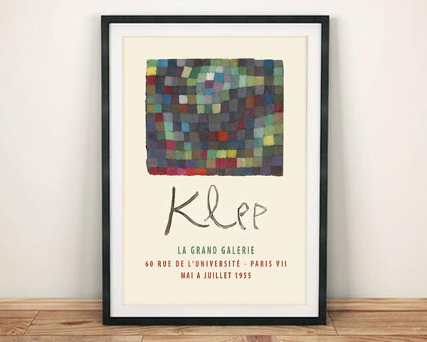 PAUL KLEE POSTER: Gallery Exhibition Print