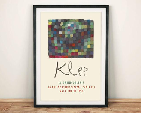 PAUL KLEE POSTER: Gallery Exhibition Print - The Print Arcade