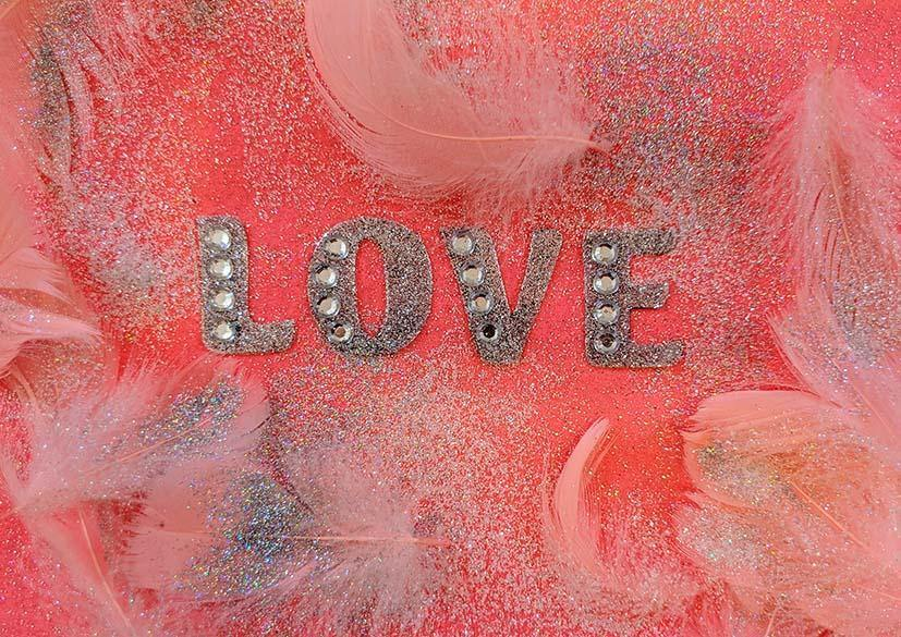 LOVE PRINT: Pink Photo Art - The Print Arcade