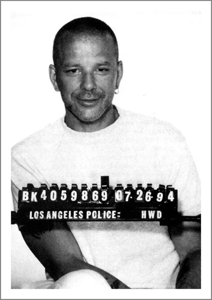 CELEBRITY MUGSHOT: Mickey Rourke Print - The Print Arcade