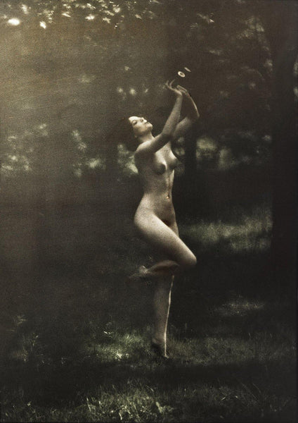 NUDE DANCER PRINT: Vintage Photography by Arnold Genthe