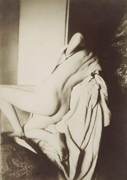 AFTER THE BATH PRINT: Nude Woman Vintage Photograph by Edgar Degas