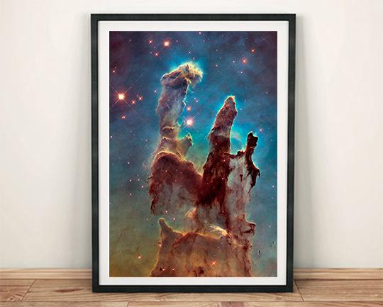 PILLARS OF CREATION: Stunning Universe Art Print - The Print Arcade