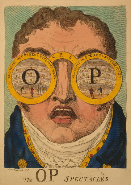 SPECTACLES ART PRINT: Vintage Op Glasses Advert - The Print Arcade