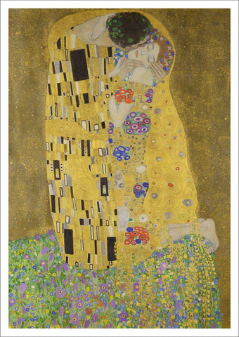 GUSTAV KLIMT: The Kiss, Fine Art Print - The Print Arcade