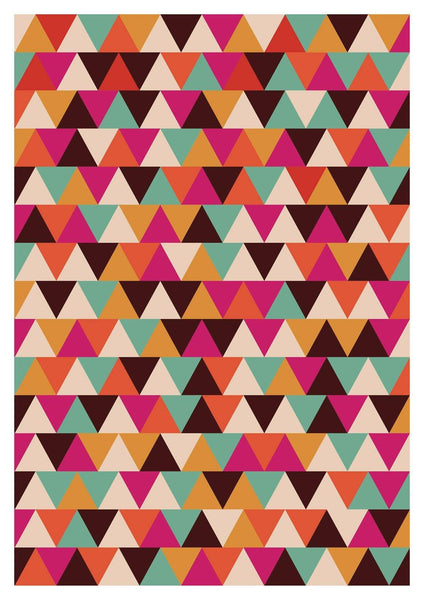 GEOMETRIC PRINT: Triangles Art - The Print Arcade